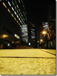 夜自転車の画像